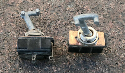 £21.24 • Buy 2 Antenna Switches For Wwii Military Radio Bc611 Scr536 - Us Made - Nos