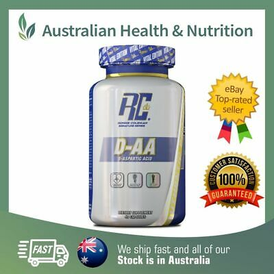 AU29.95 • Buy Ronnie Coleman Signature Series D-aspartic Acid 40c + Free Same Day Shipping
