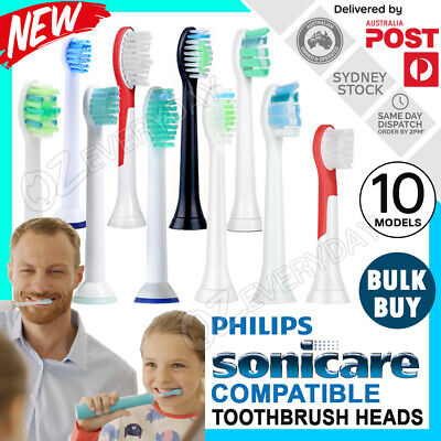 AU7.27 • Buy Philips Sonicare Toothbrush Compatible Replacement Brush Heads Refills AU Stock