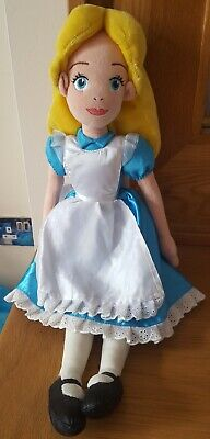 Disney Store Princess Alice Teddy Soft Plush Cuddly Toy Doll • 5£