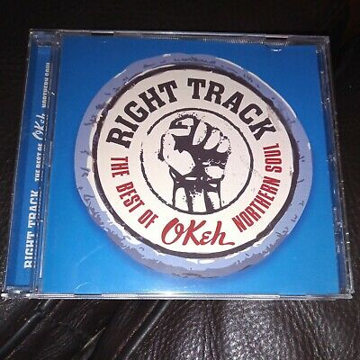 Right Track-The Best Of Okeh Northern Soul-Cd 15 NORTHERN SOUL CLASSICS SONY • 5.99£