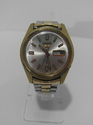 $ CDN63.10 • Buy Seiko 5 Vintage Automatic 21 Jewels Day Date Watch, 6119-8086