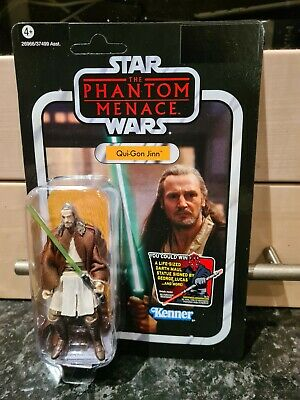 $ CDN1.74 • Buy Star Wars Vintage Collection. MOC. Qui-gon Jinn. Unpunched. Mint 2012. VC75
