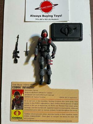 $ CDN31.50 • Buy Cobra Vehicle Gunner + File Card Complete GI Joe 25th Anniversary Figure