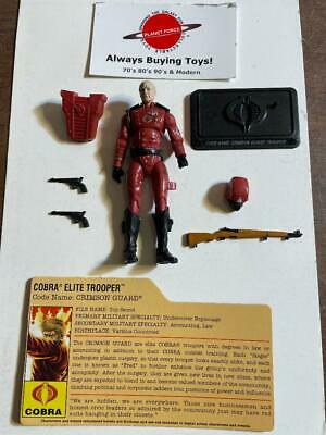 $ CDN31.50 • Buy Crimson Guard Elite + File Card Complete GI Joe 25th Anniversary Figure