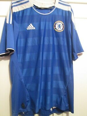 Chelsea 2011-2012 Home Football Shirt Size Large Jersey /21494 • 35.99£