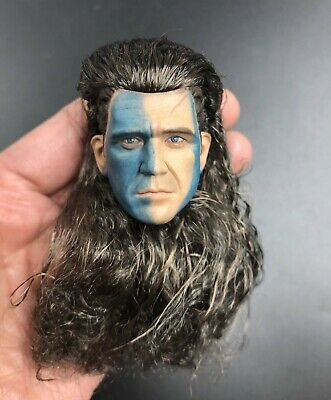 £24.45 • Buy 1/6 Scottish General William Wallace Male Head Sculpt For 12   Action Figure