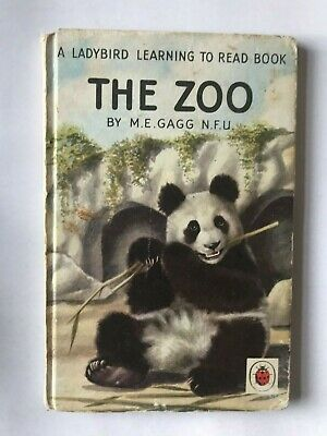 Ladybird Book The Zoo By M.E.Gagg 1960  Edition Series 563 • 2.99£