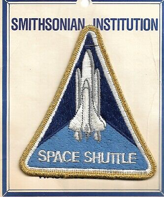 Smithsonian Space Shuttle Insignia Patch • 1£