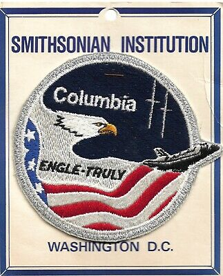 Space Shuttle STS-2 Smithsonian Insignia Patch • 1£
