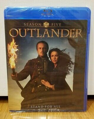 AU13.04 • Buy Outlander - Season 5 (Blu-ray, 4-Disc Set, 2020) NEW