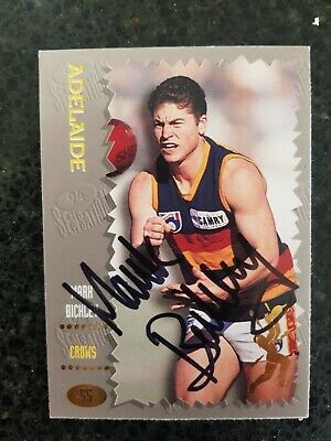 AU5.50 • Buy Adelaide Crows Afl Signed Cards X 4, Mark Bickley