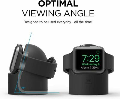 AU14.50 • Buy For Apple Watch SE/6/5/4/3/2/1 Series Stand Holder Charging Dock Station Mount