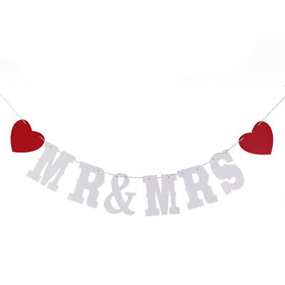 1pc Funny And MRS Paper Banner Wedding Decoration Bunting For Party Wedding • 6.30£