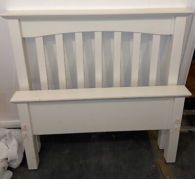 Marks And Spencer Hastings Ivory White Single Bed With IKEA Storage Drawer • 40£