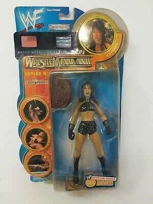$ CDN27.90 • Buy WWF WWE CHYNA WWF WrestleMania XVII Series 9 Action Figure 2001 JAKKS Pacific