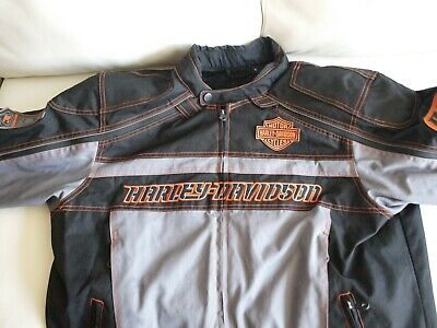 $ CDN112.91 • Buy  Excellent Preowned Harley Davidson Men's Padded Riding Gear Jacket  XL