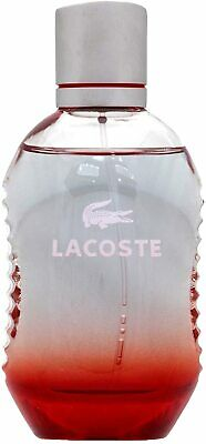 LACOSTE Red Eau De Toilette For Him Mens Aftershave 75 Ml Brand New Sealed Gift • 16.99£