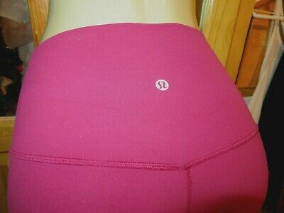 $ CDN1.26 • Buy LULULEMON Align Crop *21  Buttery Soft Nulu MOSS ROSE Leggings Pants-6-Some Use!