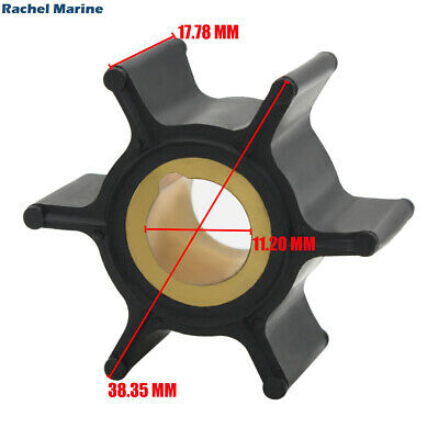 AU10.32 • Buy Water Pump Impeller For Johnson Evinrude Outboard Motor 389576 / 0389576 4-8hp
