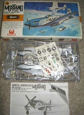 P-51D MUSTANG; HASEGAWA; Vintage Unmade  1/72 Scale KIT  • 9.95£