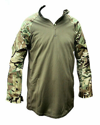 £20 • Buy Genuine British Army MTP Green Under Armour Combat Shirt UBACS Warm Weather