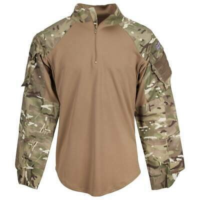 £20 • Buy Genuine British Army MTP Coyote Tan Under Armour Combat Shirt UBACS Warm Weather