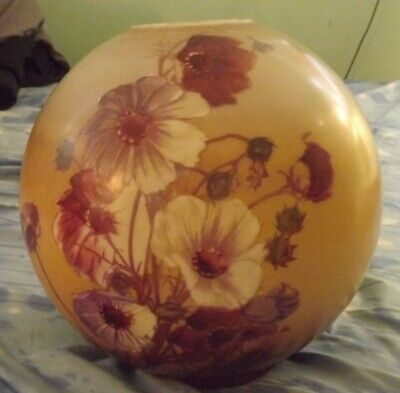 $ CDN190.24 • Buy GWTW Victorian Globe Ball Oil Banquet Lamp Shade Gone With The Wind