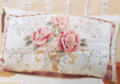 Craft Collection - Italian Roses Cushion Front & Bell Pull- Cross Stitch Kit G58 • 29.99£