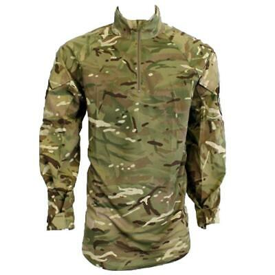 £20 • Buy Genuine British Army Full MTP Body Under Armour Combat Shirt UBACS Warm Weather