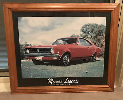 AU40 • Buy Holden Legends Poster Monaro Hk