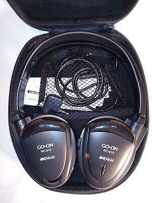 $ CDN25.37 • Buy GO-ON NC-010 Foldable Noise-Cancelling Headphones (Black)  Airplane Travel Case