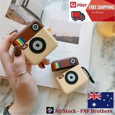 AU8.99 • Buy For Apple AirPods 1/2 And Pro Instagram Design Soft Airpods Case Cover