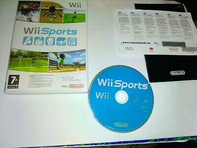 Wii Sports (Nintendo Wii, 2006) Boxed Version With Original Inserts • 3.90£