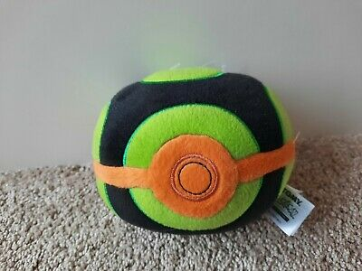 Dusk Ball Pokeball Plush Tomy Brand New With Tag Rare Pokemon Beanie • 0.99£