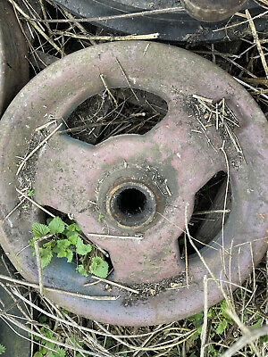 £65 • Buy Fordson Super Major Tractor Cast Front Wheel 3 Spokes Power
