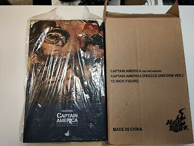 $ CDN660 • Buy Hot Toys MMS 180 Captain America (Rescue Uniform Version) Chris Evans Steve