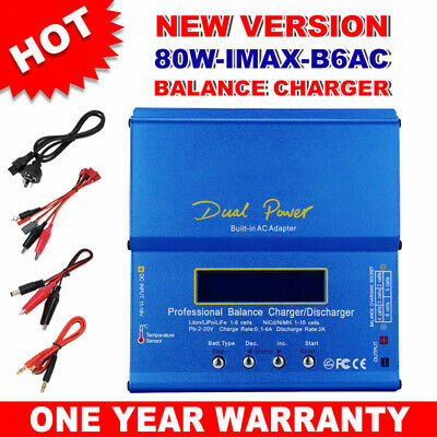 AU38.95 • Buy Pro Lipo Charger Discharger IMax B6AC RC New Version Lithium NiMh Battery 80W