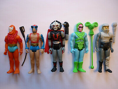 $84.99 • Buy Mattel Super7 Reaction MOTU Masters Of The Universe Lot Of 5 Figures W/ Weapons