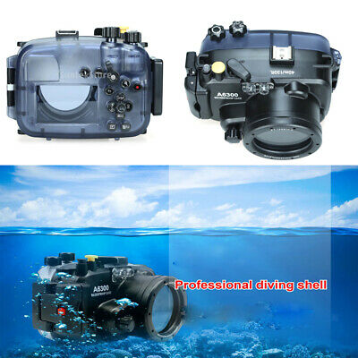 AU180.74 • Buy Waterproof Housing Case FOR Sony A6300 With 16-50mm Lens Video Filming