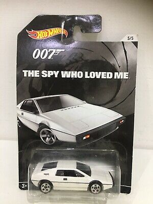 $ CDN32.73 • Buy Moc Hot Wheels Lotus Esprit S1 James Bond 007 The Spy Who Loved Me White Car Y32