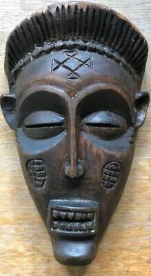 £45 • Buy African Carved Wooden Mask Chokwe Congo