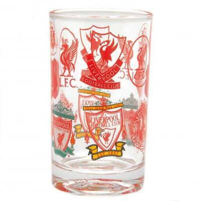 £12.49 • Buy Liverpool FC Retro Crest Small Glass Official Merchandise
