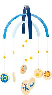 £11.99 • Buy Wooden Baby Mobile Space Theme Children's Bedroom Accessory