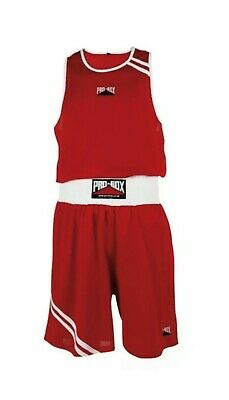£10 • Buy PRO BOX Boxing Vest Gym New Red