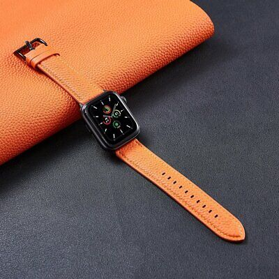 AU18.89 • Buy Superior Leather Band Strap For Apple Watch SE Series 6 5 4 3 2 1 38/42/40/44mm