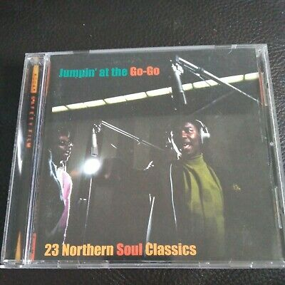 JUMPIN AT THE GO-GO-23 NORTHERN SOUL CLASSICS-CAMDEN CD-1999 Searling Collection • 4£