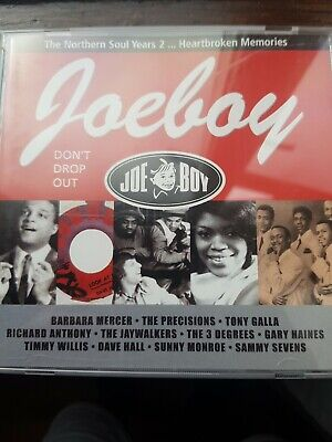 Various Artists : Northern Soul Years 2 CD JOE BOY 006 23 Classic Dancers   • 8.99£