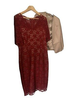 £20 • Buy Kaliko Mother Of Bride Occassion Dress And Jacket Size 12
