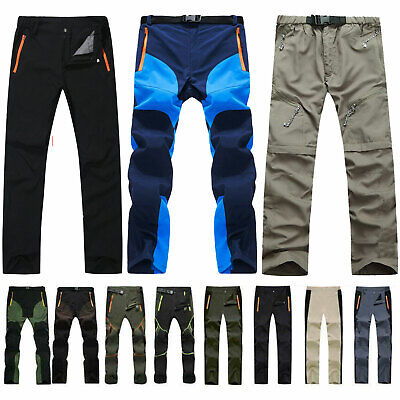 £15.29 • Buy Men Hiking Trousers Casual Windproof Quick Dry Sport Trekking Pants Hiking Thin
